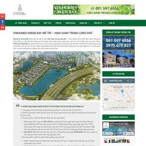 Website Giới Thiệu Bán Dự án Chung Cư Biệt Thự WBT111