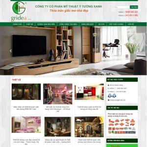 Website Thiết Kế Nội Thất WBT112