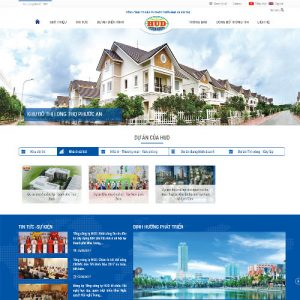 Website Bất động Sản WBT116