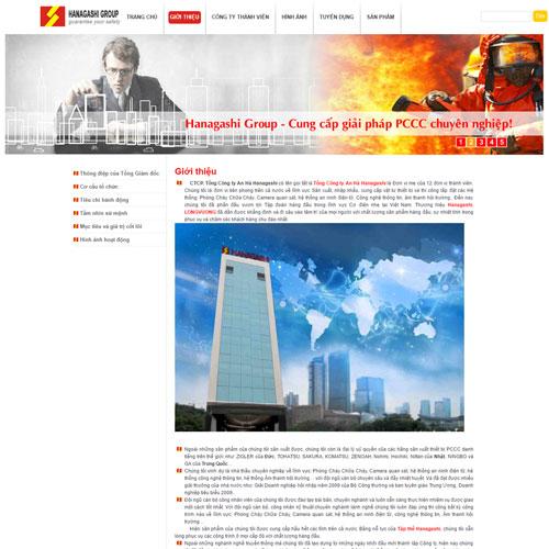 Website Giới Thiệu Doanh Nghiệp WBT117