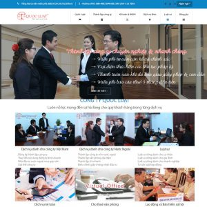 Website Công Ty Luật Thành Lập Doanh Nghiệp WBT118