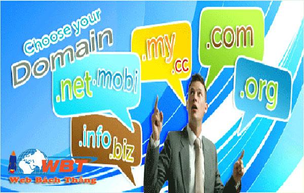 Cách chọn tên miền tốt cho website