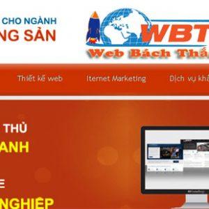 Thiết Kế Website Nhà đất Giá Rẻ Chuẩn Seo