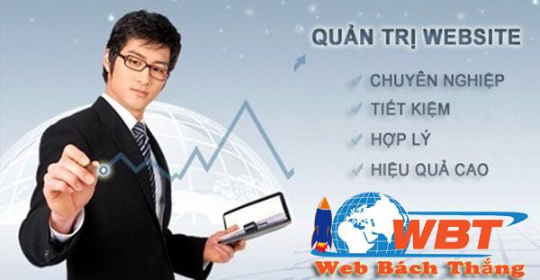 Dịch vụ quản trị web giá rẻ