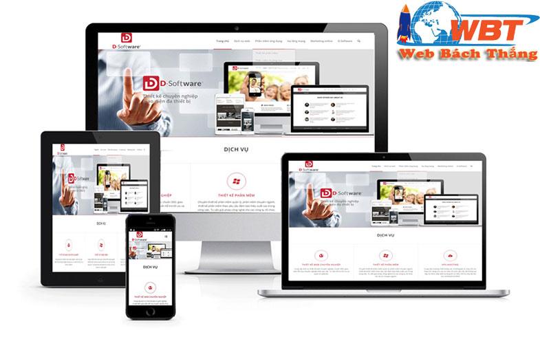 thiết kế website chuẩn di động