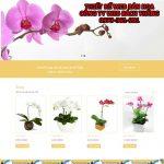 Thiết kế website bán hoa tươi chuyên nghiệp  giá rẻ chuẩn SEO