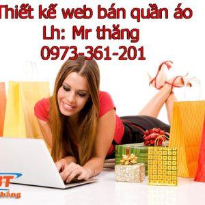 Thiết Kế Website Bán Quần áo Giá Rẻ