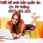 Thiết Kế Website Bán Quần áo Chuyên Nghiệp