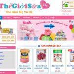 Thiết kế website bán bỉm sữa giá tốt với nhiều ưu đãi hấp dẫn.