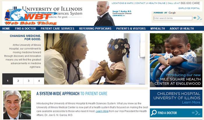 thiết kế website bệnh viện giá rẻ