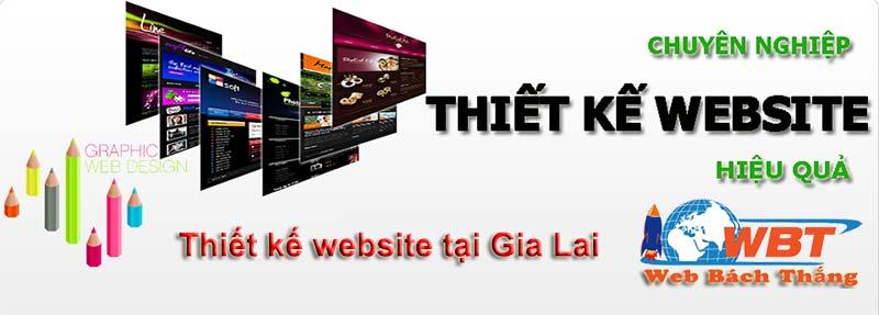 thiết kế website tại gia lai giá rẻ