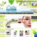 Thiết Kế Website Thực Phẩm Chức Năng Uy Tín Giá Tốt