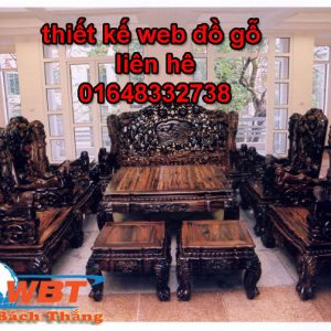 Thiết Kế Website Bán đồ Gỗ