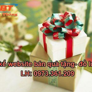 Thiết Kế Website Bán Quà Tặng đồ Lưu Niệm