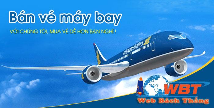 thiết kế website bán vé máy bay giá rẻ chuẩn seo