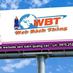 Thiết Kế Website Làm Biển Quảng Cáo