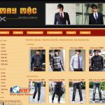 Thiết Kế Website May Mặc Giá Rẻ Giao Diện đẹp Chuẩn Seo