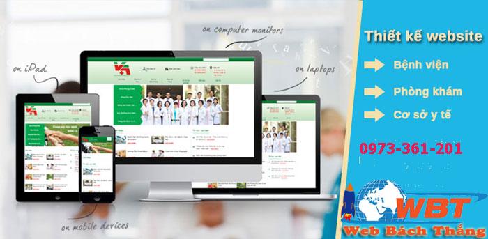 thiết kế website bệnh viện giá rẻ chuẩn seo