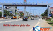 Thiết Kế Website Phúc Thọ
