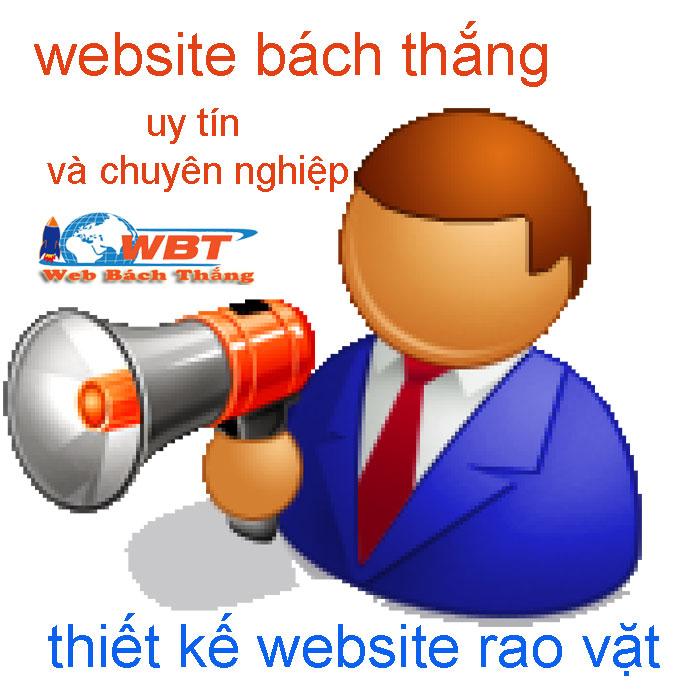 thiết kế website rao vặt