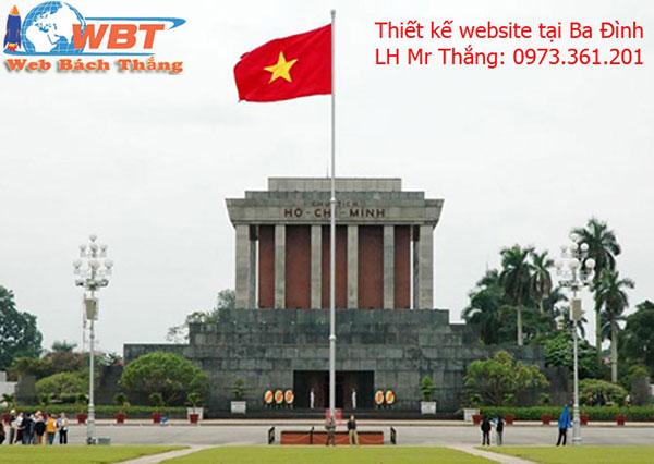 Thiết kế website tại Ba Đình chuyên nghiệp