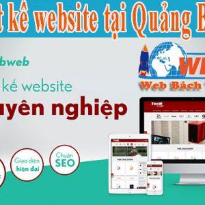 Thiết Kế Website Tại Quảng Bình Chuyên Nghiệp, Chuẩn Seo