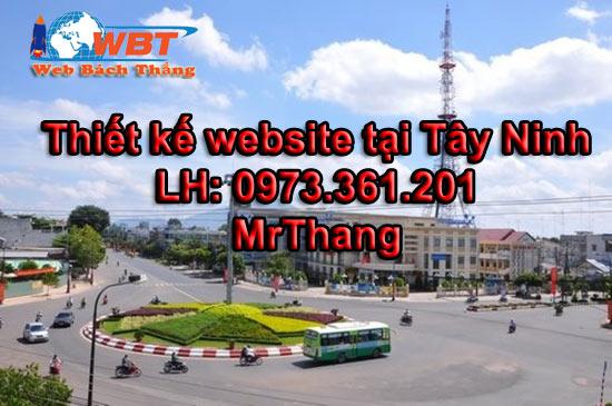 thiết kế website tại Tây Ninh