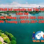 Thiết Kế Website Tại Tây Hồ Chuẩn Seo Chuyên Nghiệp Giá Rẻ