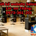 Thiết Kế Website Salon Tóc Chuyên Nghiệp Giá Rẻ Chuẩn Seo