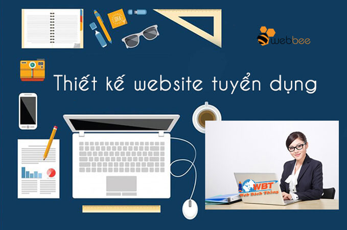 Thiết kế website tuyển dụng nhân sự chuẩn seo chuẩn di động