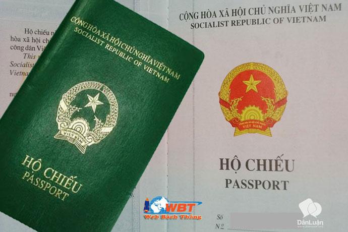 các loại hộ chiếu