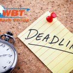 Deadline Là Gì? Tác Dụng Và ý Nghĩa đối Với Nghề Seo Là Gì
