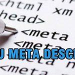 Description là gì ? Cách sử dụng thẻ meta description trong SEO