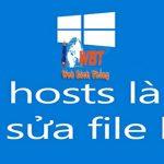 File Host Là Gì ? Cách Sửa Và Lưu File Host An Toàn Nhất