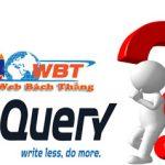 Jquery là gì? Tại sao trang web phải cần đến jquery?