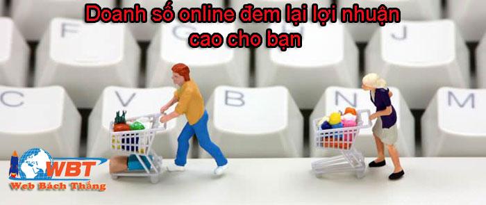 lợi nhuận online đem lại cho bạn