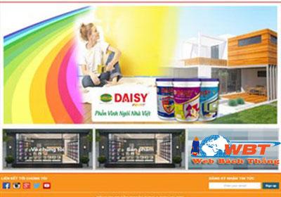thiết kế website bán sơn