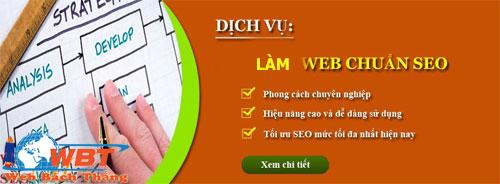 LÀM WEBSITE CHUẨN SEO