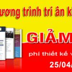 Thiết kế website miễn phí tri ân khách hàng nhân dịp 30/4 và 1/5