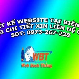 Thiết Kế Website Tại Biên Hòa Chuẩn Seo Chuẩn Di động