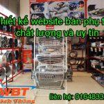 Thiết Kế Website Bán Phụ Tùng