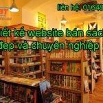 Thiết kế website bán sách chuyên nghiệp, đẹp và giá rẻ