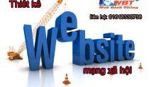 Thiết Kế Website Mạng Xã Hội