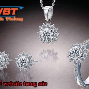 Thiết Kế Website Bán đồ Trang Sức