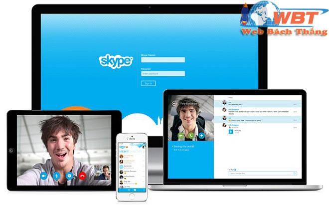tính năng skype