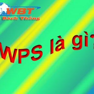 Cách Cài Wps Là Gì