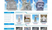 Mẫu Website đá Mỹ Nghệ - điêu Khắc đá WBT1008