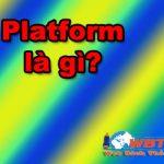 Platform Là Gì? Nền Tảng Phần Cứng Và Phần Mềm Của Nó Là Gì