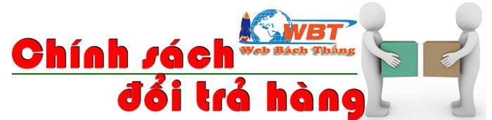 Chính sách đổi trả dịch vụ website