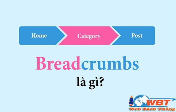 định nghĩa breadcrumbs là gì